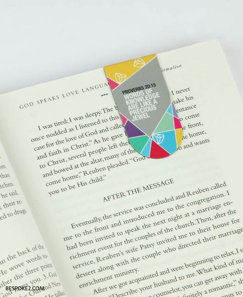 precious jewel magnetic bookmark