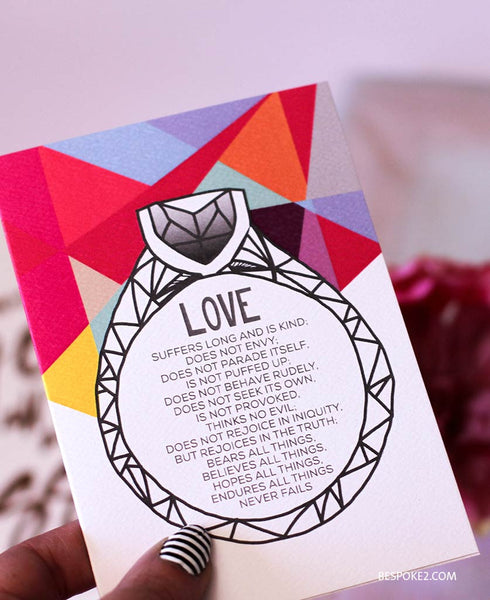 love ring card