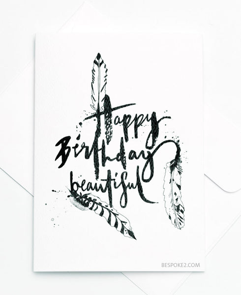HB Beautiful Card