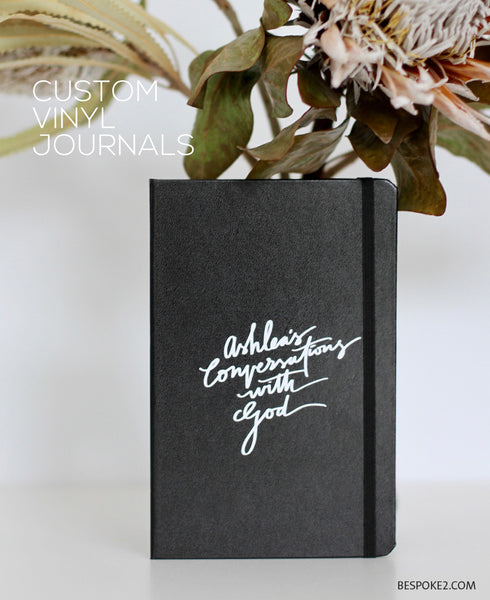 CUSTOM JOURNAL - VINYL