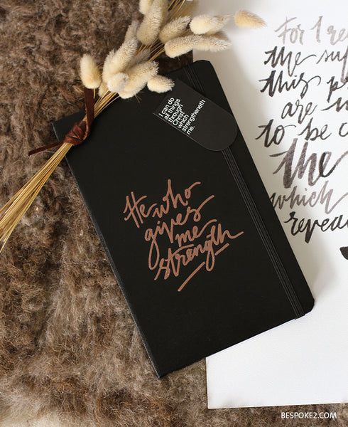 CUSTOM JOURNAL - EMBOSSED
