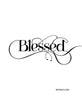 Blessed - pdf instant download