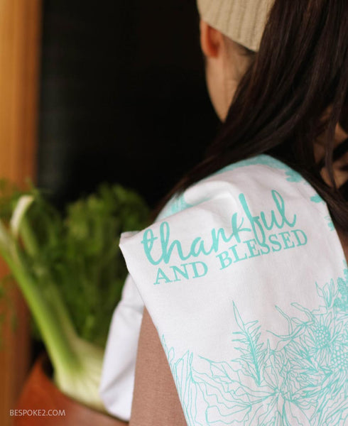 thankful+blessed tea towel - SOLD OUT
