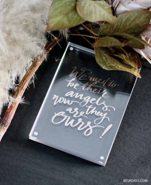 Acrylic Block - Quote