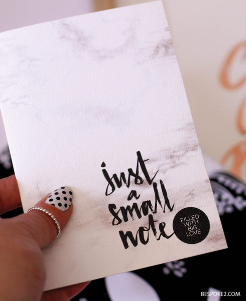 Small Note Card