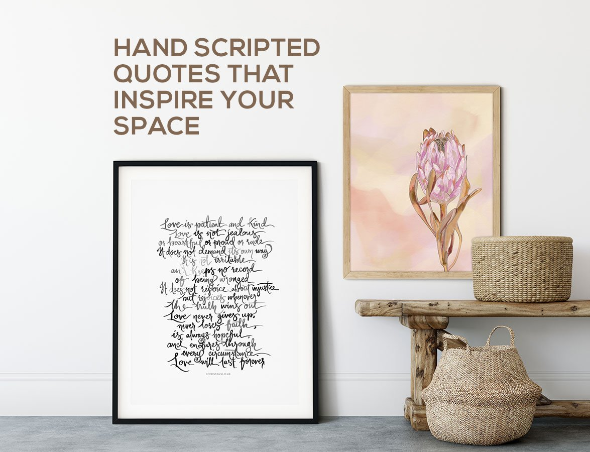 CALM YOUR SPACE WALL ART