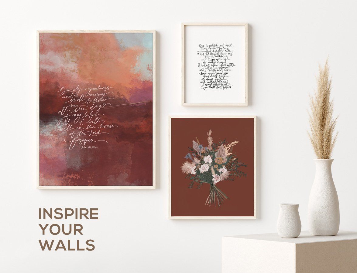 SCRIPTURE WALL ART