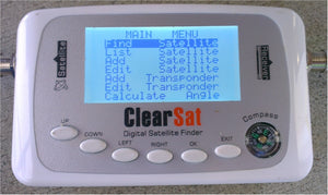 Change of frequency on ClearSat 3239 and Satking SK500
