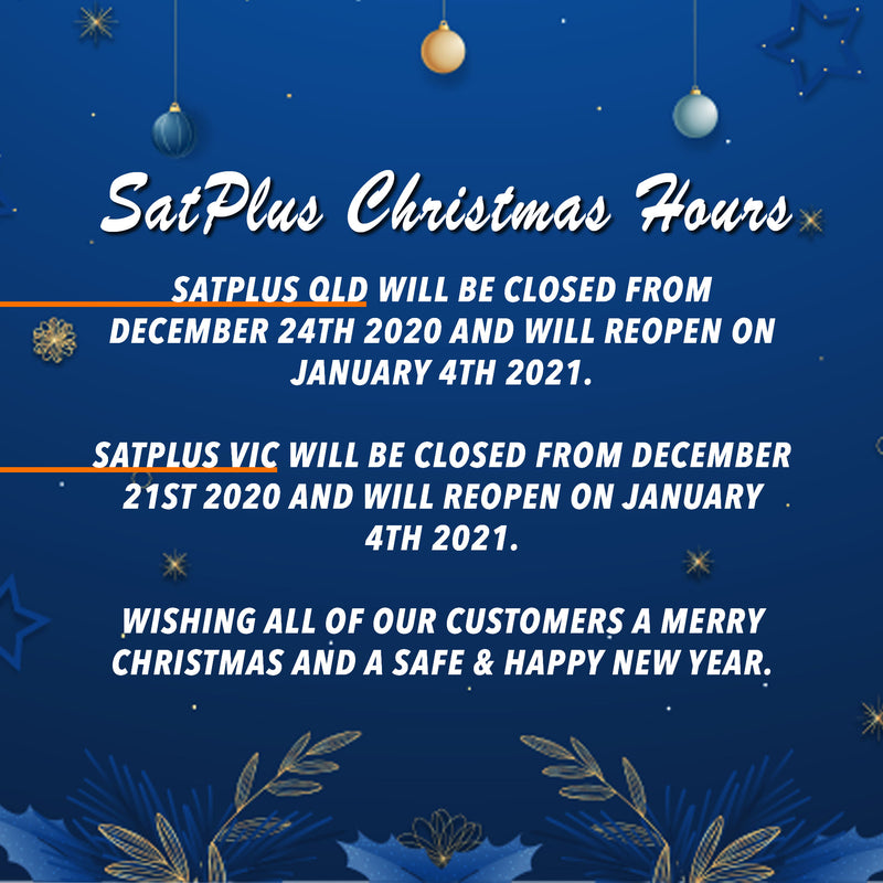 SatPlus Christmas Trading Hours