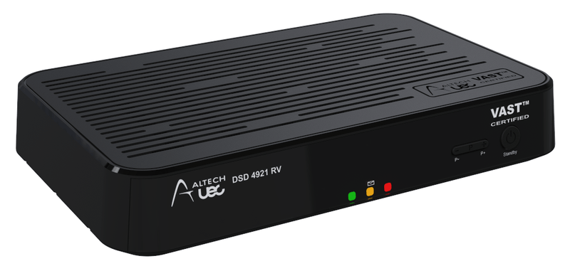 Altech 4921 RV VAST Certified Decoder - PVR Ready