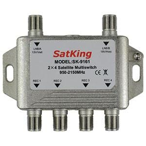 SatKing 2 in 4 out Multiswitch