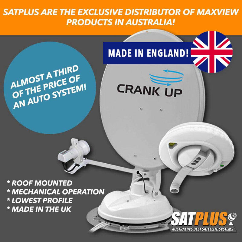 Maxview Roof Mounted Crank Up Satellite Dish