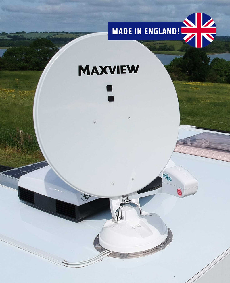 Maxview Connect App Controlled Roof Mounted Auto Satellite System