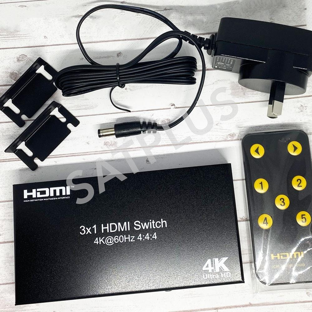 3 Input 1 Output HDMI Switch