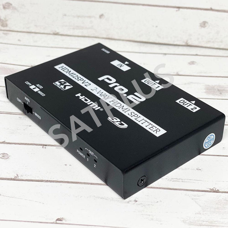 Professional 2 Way HDMI Splitter 3D and 4K Support