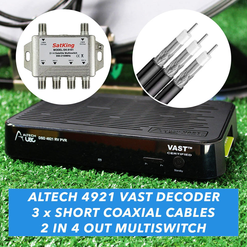 Altech VAST Box with Multiswitch Pack