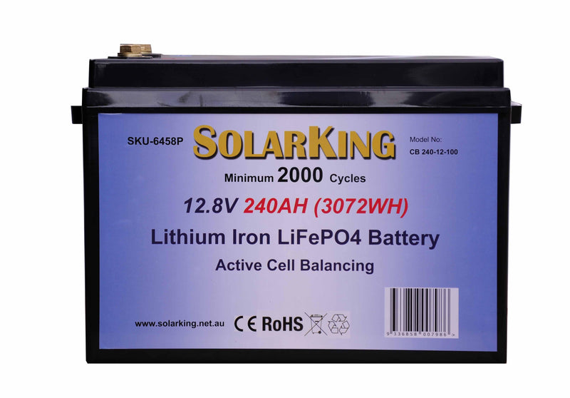 SolarKing 12V 240AH Lithium Battery