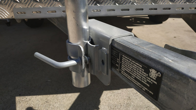 Universal Drawbar Clamp