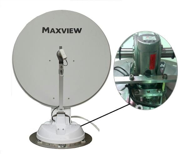 Maxview Crank Up Roof Mounted Satellite Dish Bundle Deal