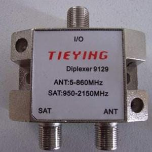 Satellite and Antenna Signal Diplexer (Combiner)