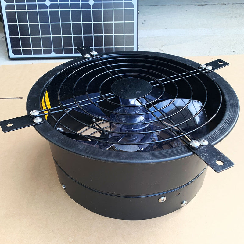 Solar Wall Ventilation Fan 320MM Outdoor Use Extraction Fan