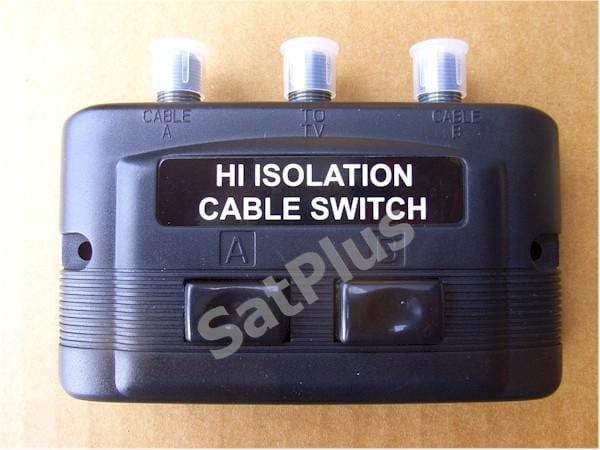 High Isolation Satellite Switch