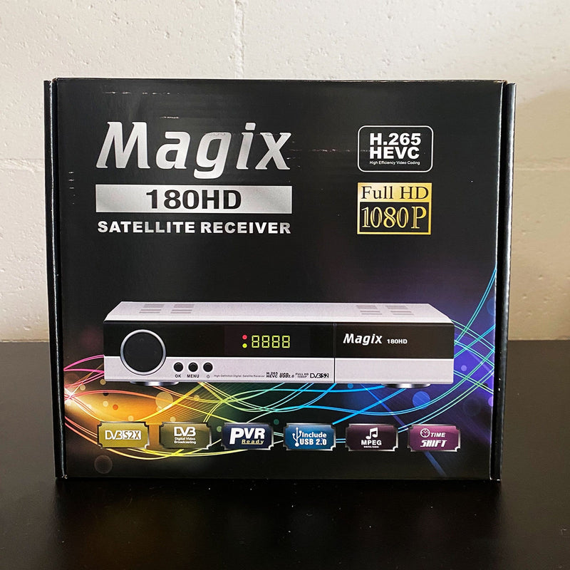 Magix 180 High Definition Satellite Receiver