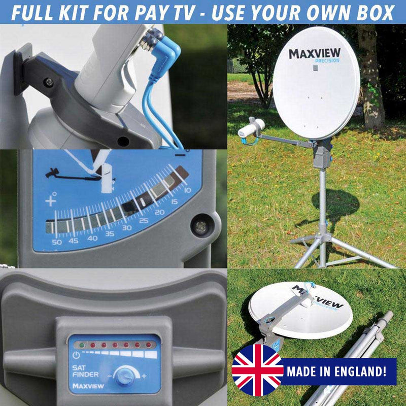 MAXVIEW PRECISION PAY TV SATELLITE SYSTEM