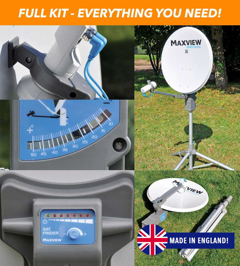 MAXVIEW PRECISION VAST SATELLITE SYSTEM