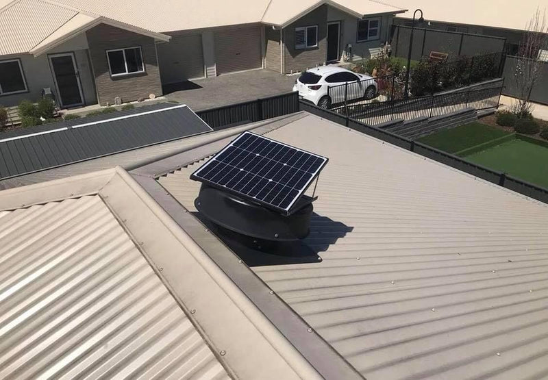 Solar Roof Ventilation Fan Outdoor Extraction Fan Home house and Shed