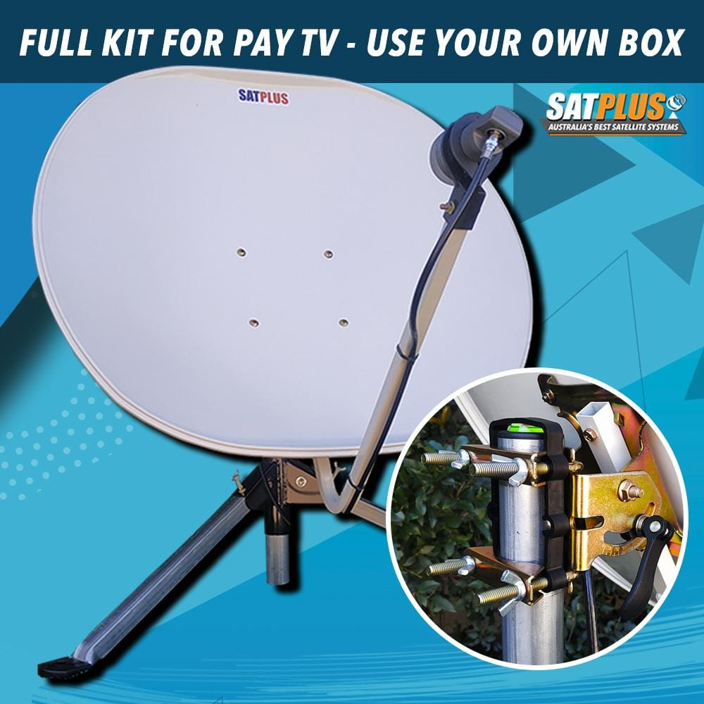 SatPlus Travel TV Pay TV Mobile Caravan Satellite System