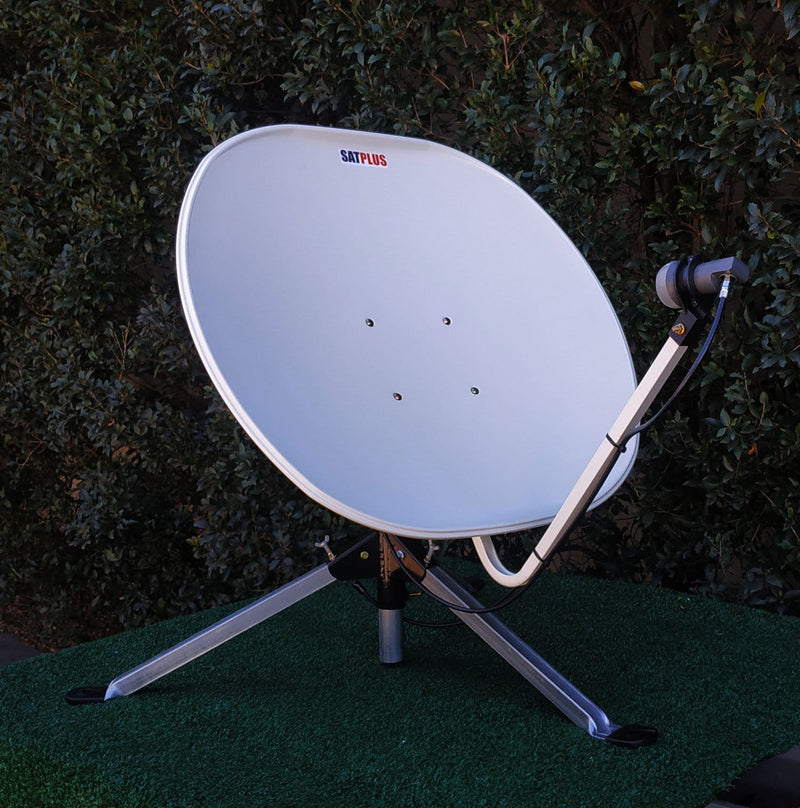 SatPlus Travel TV Mobile Caravan Satellite Dish (DISH ONLY)