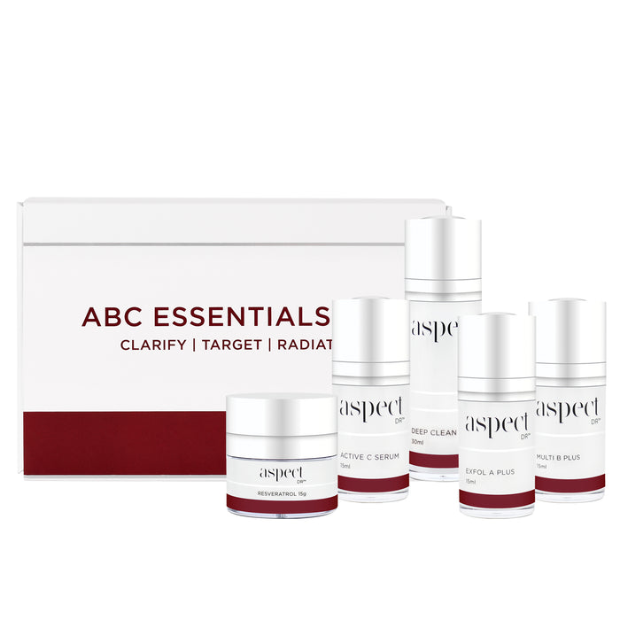 Aspect Dr ABC Essentials kit skin care