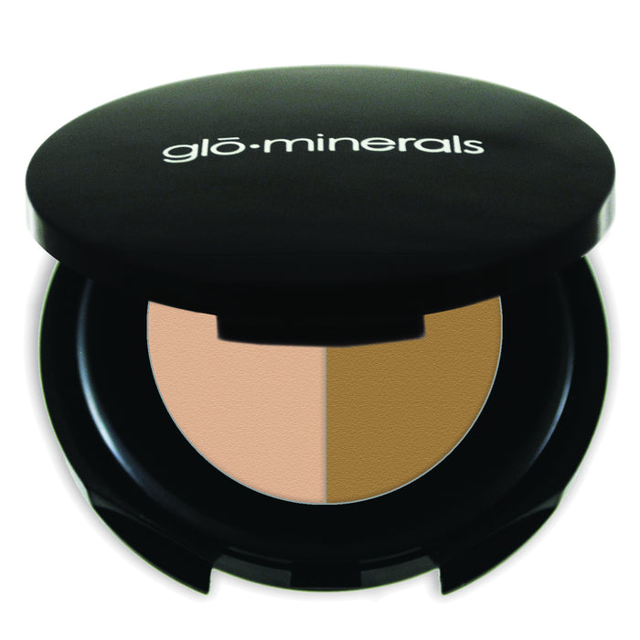 Glo Minerals Brow Powder Duo - Blonde 1.1g