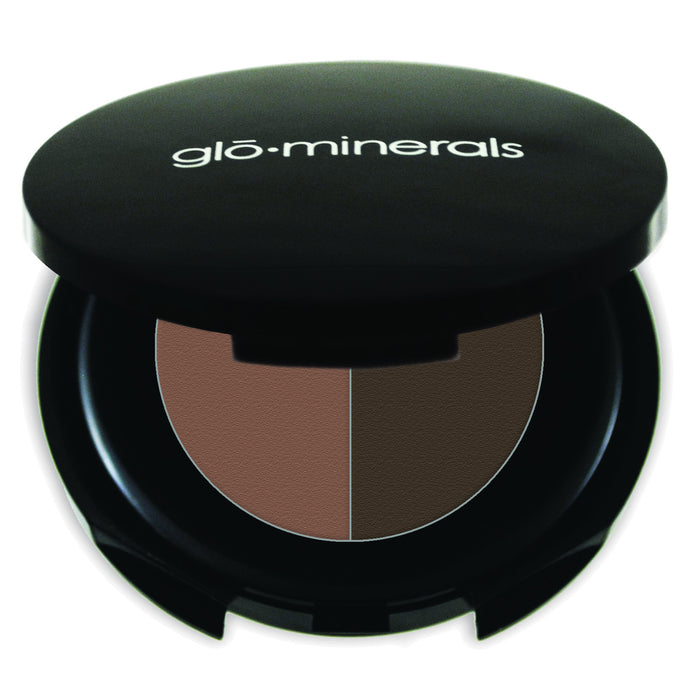 Glo Minerals Brow Powder Duo - Brown 1.1g