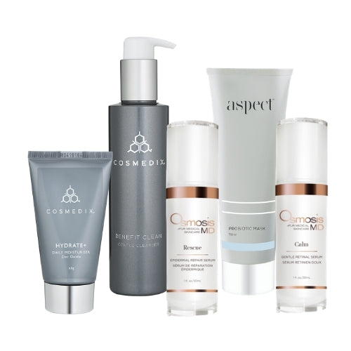 anti-redness skincare package kit