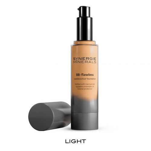 synergie minerals foundation bb flawless light