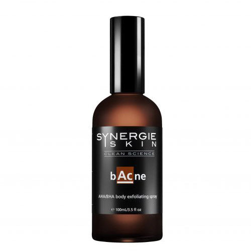 Synergie skincare bacne back acne
