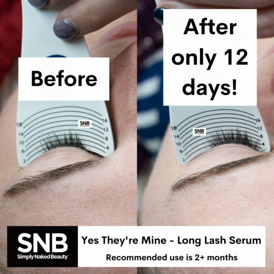 simply naked beauty yes they're mine lash growth serum review