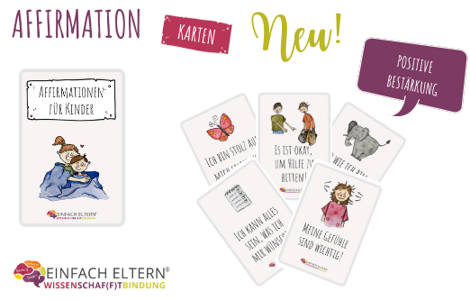 Pre Order - Affirmationskarten Set Kinder