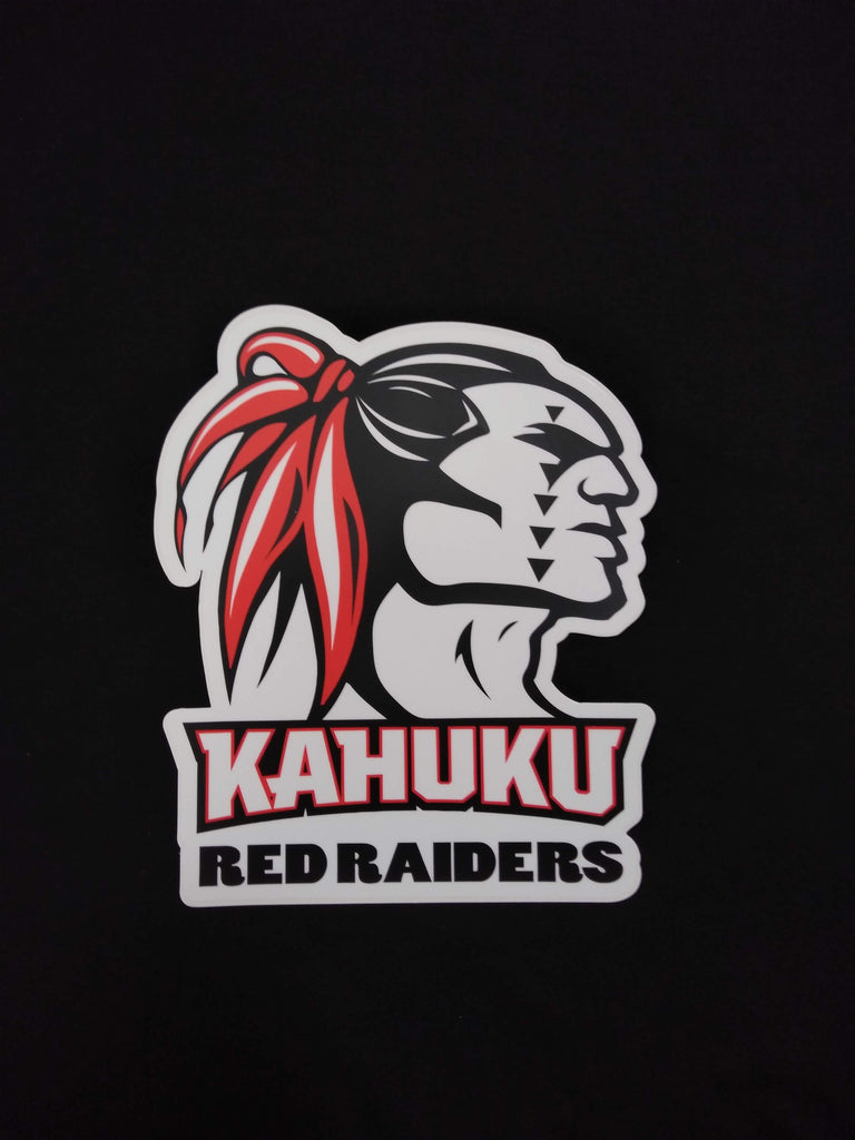 Large Red Raider Sticker