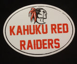 Kahuku Red Raider Sticker