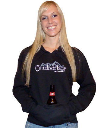 Mountain Pullover Hoodie with Koozi
