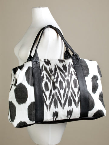 Earth, Desert and Sky Urban Ikat Duffle Bag