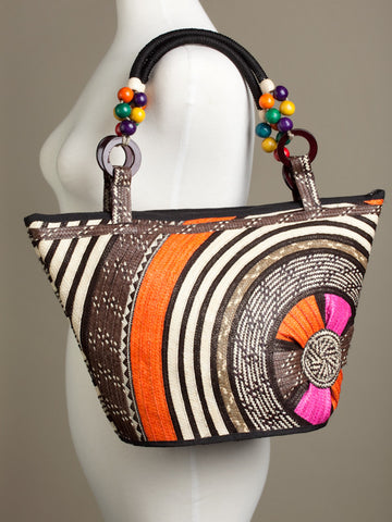 Color and Light Sunset Caña Flecha Shoulder Bag