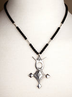 Agadez Cross Necklace - Large