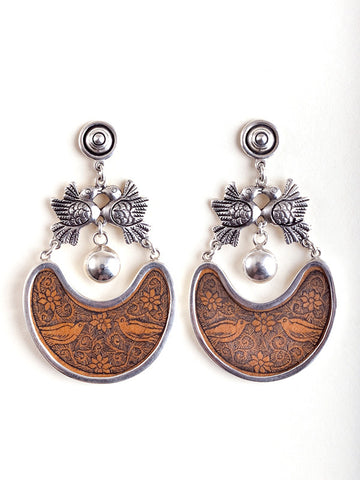 Joyas Cachi, Peru, Gourd, Silver, Jewelry, Earrings