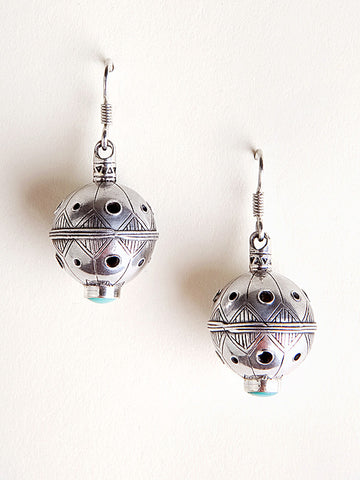 Silver Bell Earrings