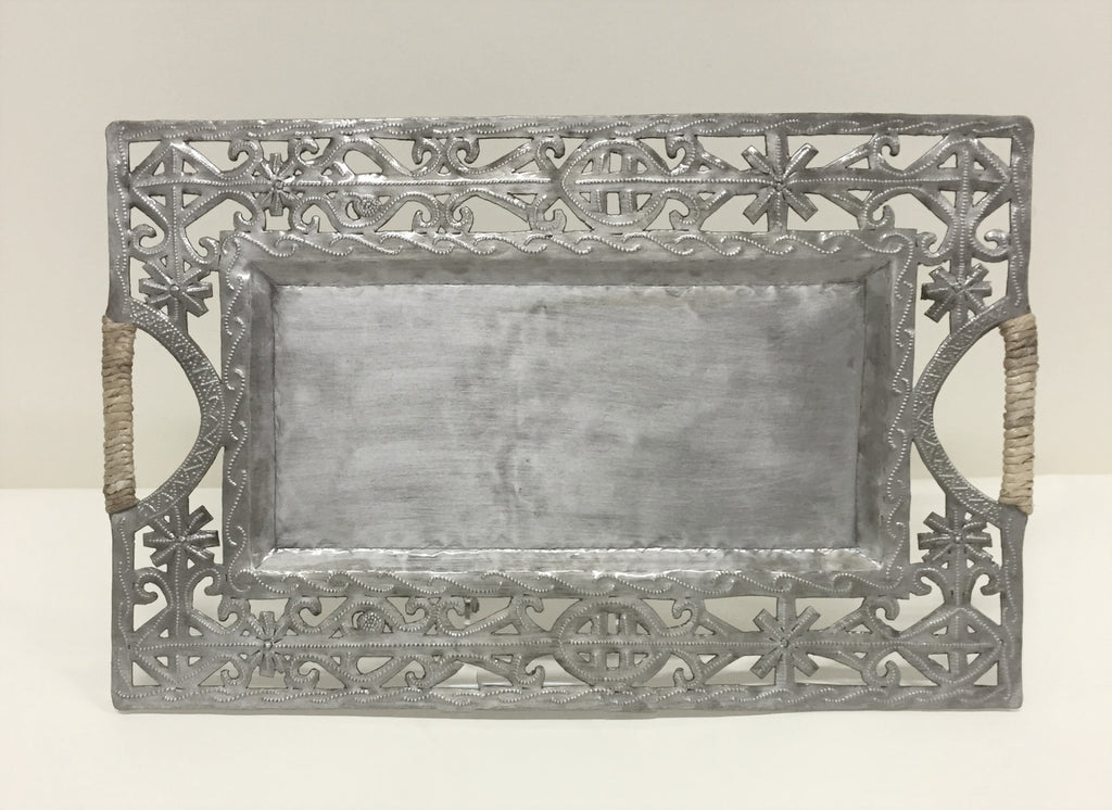 Large Open Rectangular Serving Tray