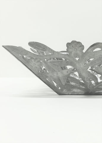 Square Open Birds and Branches Bowl